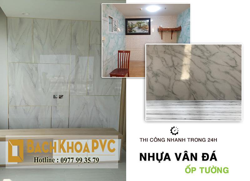 36 kế chống ẩm mốc tường nhà – Tấm nhựa giả đá ốp tường đứng thứ 1