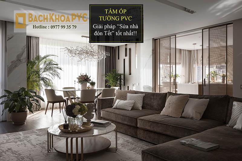 【BachKhoaPVC】5 cách trang trí sửa nhà đón Tết nhanh mà lại đẹp