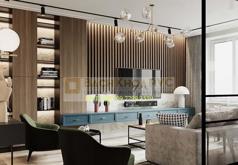 Đặc tính linh hoạt của nhựa giả gỗ khi ứng dụng trang trí nội thất