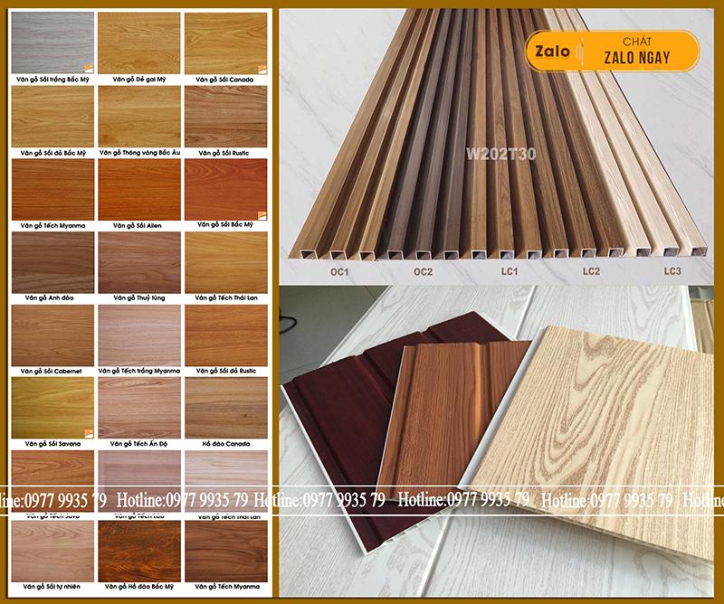Sao phải chọn gỗ tự nhiên khi tấm nhựa giả gỗ có tính năng ưu việt hơn?