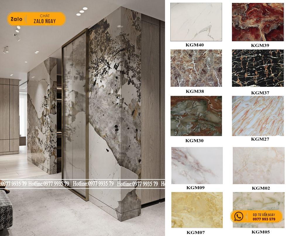 4 tiêu chí tạo nên không gian nội thất sang trọng ít chi phí với tấm pvc vân đá