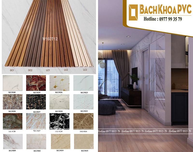 Tấm nhựa ốp tường PVC dẫn đầu xu hướng vật liệu nội thất được ưa chuộng trong năm 2020