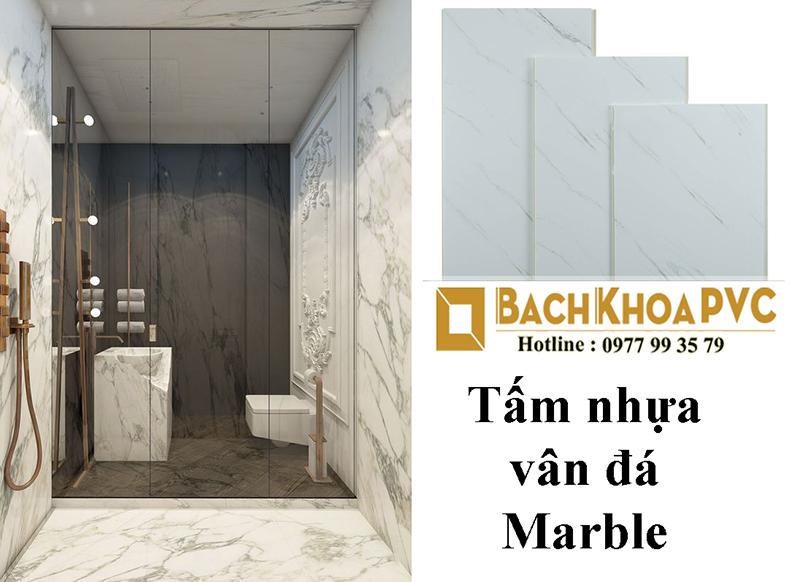 Tấm nhựa vân đá Marble ốp tường giá bao nhiêu?