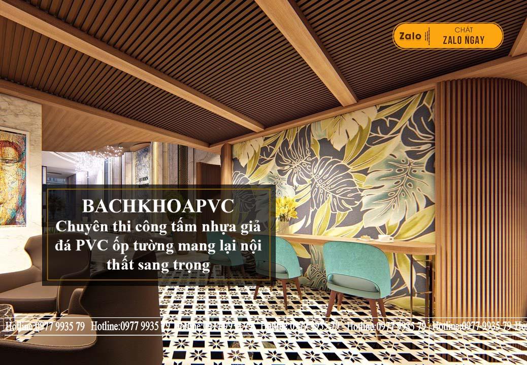 Tấm ốp tường giả gỗ thích hợp với nhiều điều kiện ngoại cảnh khác nhau