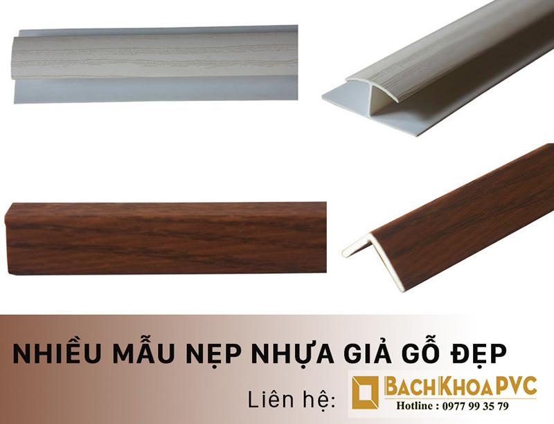 Thi công nẹp nhựa giả gỗ tại TPHCM với 5 ưu điểm nổi bật