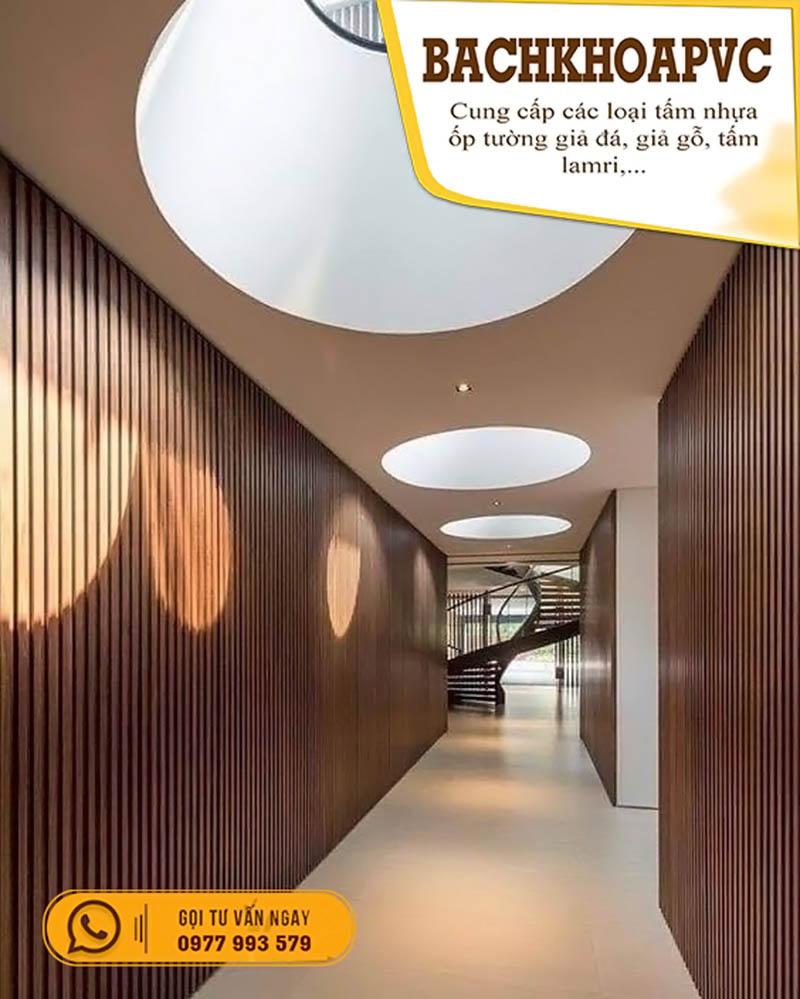 Với tấm ốp tường vân gỗ bạn có vô vàn cách để sáng tạo - 4